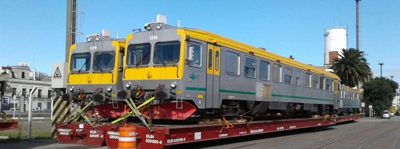 Fueron adquiridos 7 coches motor para el servicio de pasajeros