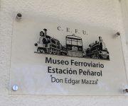 CEFU MUSEO FERROVIARIO ESTACION PEÑAROL MONTEVIDEO