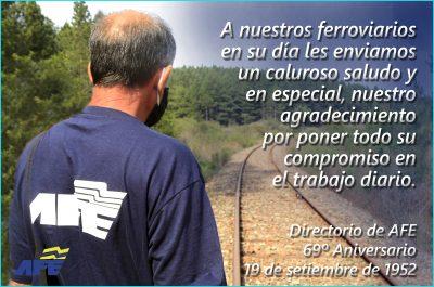 19 DE SETIEMBRE DIA DEL FERROVIARIO EN URUGUAY